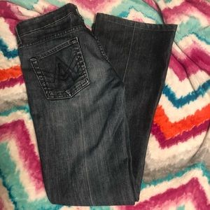 7 for all mankind a pocket jeans size 26 euc!